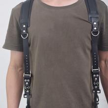 Camera Strap Leather Double Shoulder Strap DSLR Strap Camera Harness For Canon Nikon Pentax Sony Fuji Samsung Black Brown