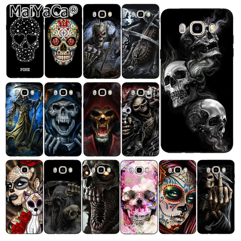 Maiyaca Capa Phone-Case Grim Reaper Skull Skeleton J7NEO Samsung Galaxy J4plus For DUO