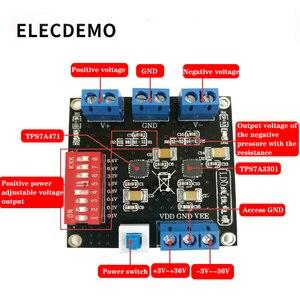 Image 2 - TPS7A4701 modülü TPS7A3301 ultra düşük dalgalanma pozitif ve negatif güç uV dalgalanma doğrusal güç kaynağı hakiki özel