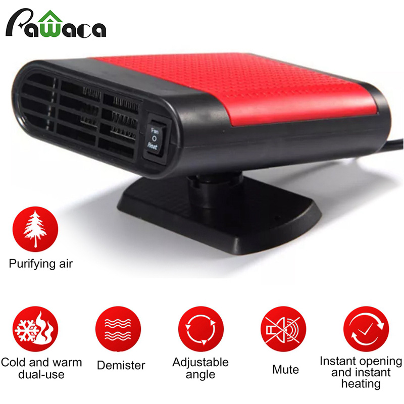 Car Heater 2IN1 Portable Car Heating 12v 150W Quick Natural Wind Defroster With Three Outputs