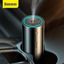 Baseus Humidifier for Car Home Office USB Ultrasonic Humidifier Metal Air Humidifier Nightlight Portable Smart Humidificador