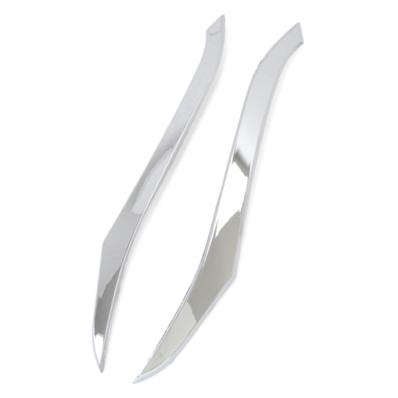 for Honda CRV 2012 2013 2014 ABS Chrome Front Grills Decorative Cover Frame Trim Grilles Decoration Strip Moldings 2Pcs/Set|Styling Mouldings| |  - title=