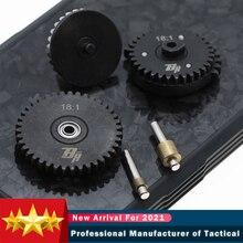 Новый стальной редуктор для скорости вращения для Ver.2/3 M4 AEG JinMing8 JinMing9 JiQu 416 Airsoft Gel Blaster коробка передач Запчасти для пейнтбола