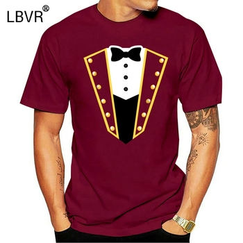 new men shirt Circus Ringmaster Costume Showman Party Shirt image