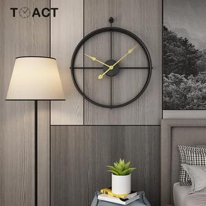 Image 3 - 55 ซม.ขนาดใหญ่ Wall CLOCK ออกแบบโมเดิร์นนาฬิกาสำหรับตกแต่งบ้านนาฬิกาใหญ่สำนักงานยุโรปแขวนผนังนาฬิกาคริสต์มาสของขวัญ