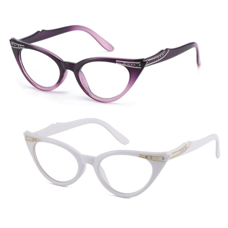 Очки для чтения «кошачий глаз», женские очки при дальнозоркости, дальнозоркости, очки от 1,0 до 3,5