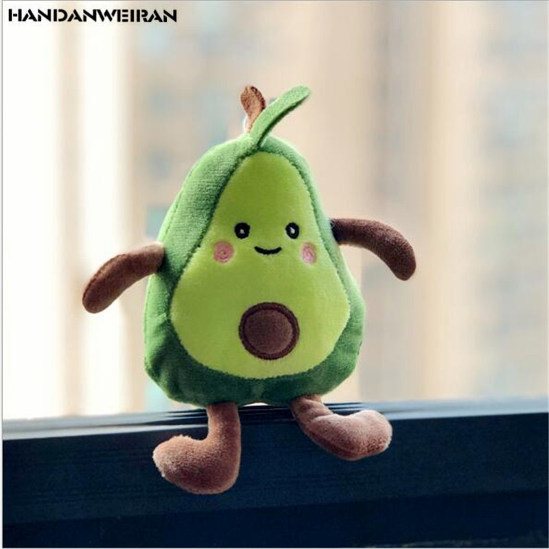 13cm Plush Avocado Toys Stuffed Plush Plants Soft Pillow Stuffing Doll Avocado Doll For Kids Toys Gift Valentine's Day Present