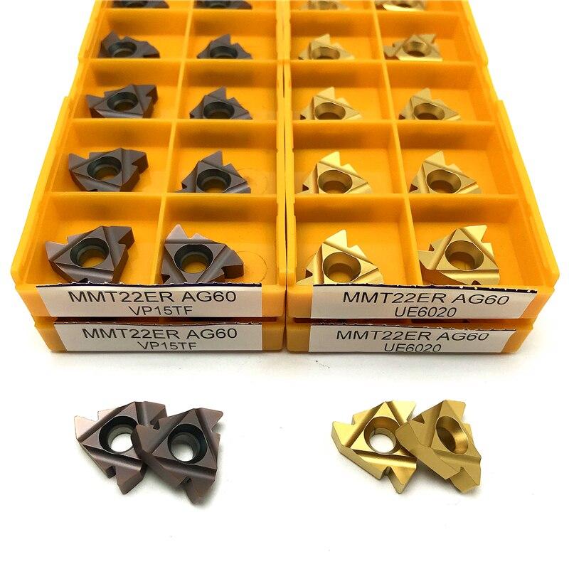 Carbide Threading Insert 11ER 11IR 16ER 16IR 22ER 22IR AG60 Thread Turning Tool Cutting Tool External Threading Lathe Tools