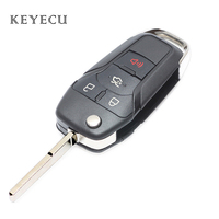 Keyecu New Replacement Smart Remote Flip Key Keyless Entry Fob 4 Buttons 315MHz for Ford Fusion 2013 2016 FCC ID: N5F A08TAA