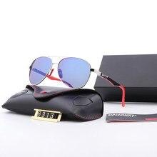 2021 marca original polarizado óculos de sol lente proteção uv clássico vintage óculos de sol para masculino/feminino acessórios 8313