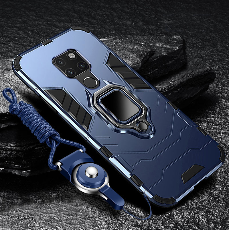 For Xiaomi Redmi <font><b>Note</b></font> 9S <font><b>Case</b></font> Hard <font><b>With</b></font> Stand <font><b>Ring</b></font> Armor shockproof protective Back Cover <font><b>Case</b></font> for xiaomi redmi <font><b>note</b></font> <font><b>9</b></font> pro 9s image