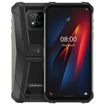 Перейти на Алиэкспресс и купить Чехол-накладка Ulefone Armor 8 6,1 дюймов NFC IP68 противоударный надежные смартфоны Android 10 4 Гб + 64 Гб Восьмиядерный OTG 5580 мАч мобильный телефон
