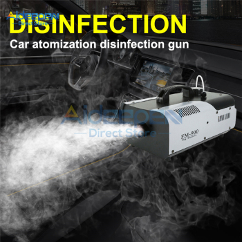 110V 220V 900W High Power 1L Nano Disinfection Atomizer Remote Control Smoke Machine Sprayer US/EU/UK Plug For Car Home Office