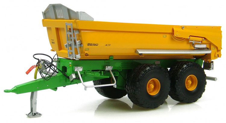 Special Offer fine 1 32 2581 KTP 22 50 tractor Truck tow bucket Agricultural Vehicle Model