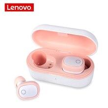 Lenovo Bluetooth écouteur 5.0 TWS True Wireless écouteurs stéréo casque casque musique basse bilatérale écouteurs pour womon rose
