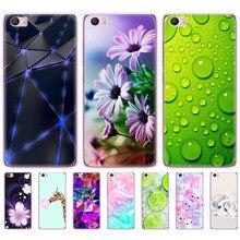 Мягкие ТПУ чехлы с рисунком для xiaomi Mi5 Mi 5 M5, прозрачные чехлы для телефонов xiaomi Mi5 Mi 5 m5, силиконовые Мультяшные Коты, цветы