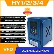 Bomba de agua de presión constante, fuente del Motor, convertidor de frecuencia especial, 0,75-1,5-2,2 kW, Universal, una o tres fases