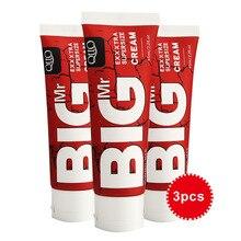 3 pièces Big Dick pénis agrandissement crème à base de plantes Gel taille augmenter plus longue érection améliorer sexe pompe Extender agrandisseur jouets pour les hommes