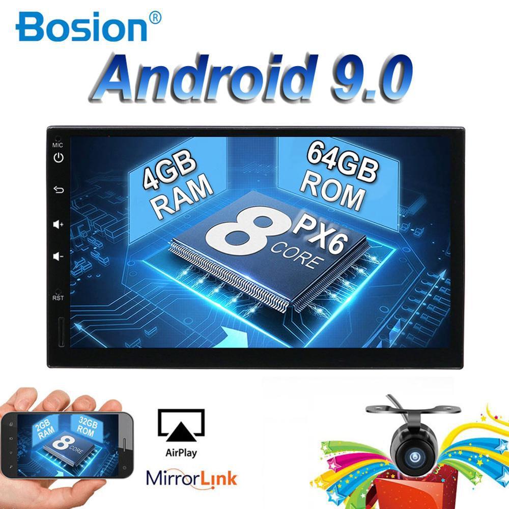 Android 8.1/9.0 dvd de voiture pour nissan 178*102MM qashqai x-trail juke universel multimédia voiture gps navigation lecteur caméra gratuite