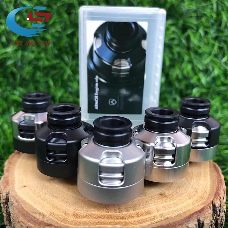 Armor S Styled <font><b>RDA</b></font> Rebuildable Dripping Atomizer with bf pin <font><b>22mm</b></font> 316 ss 510 thred Top oiling diy edc Atty vs sxk <font><b>GOON</b></font> <font><b>rda</b></font> image