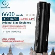 9 cellules 6600mAh J70W7 R795X WHXY3 Batterie pour Dell XPS 14 15 17 L401X L501X L502X L701X L521X 3D L702X 312 1123 312 1127 JWPHF