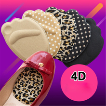 1 pair Forefoot Insoles Shoes Sponge Pads High Heel Soft Insert Anti-Slip Foot Protection Pain Relief Women shoes insert Insoles 1 pair high quality sponge invisible back soft heel pads for high heel shoes grip adhesive liner cushion insert pads insoles ht3