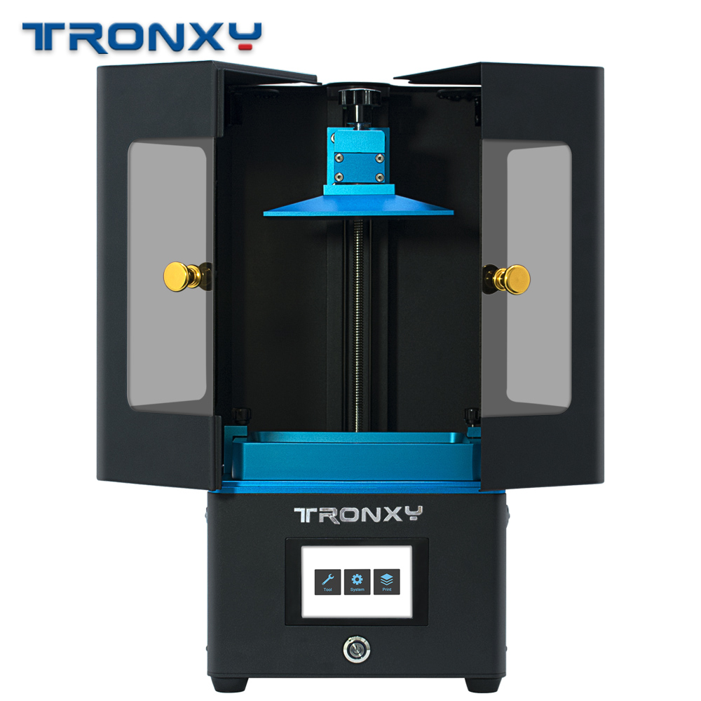 Ultrabot UV Light Curing 3D Printer Plus Size Off Line Print SLA Light Curing UV LCD Printing Photosensitive Resin TRONXY