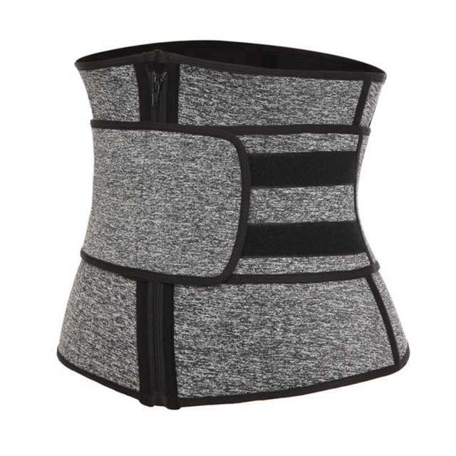 2020 New Waist Trainer Corset Sweat Belt For Women Weight Loss Compression Trimmer Workout Fitness 2