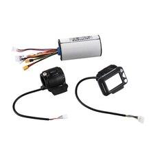 Контроллер тормоза ЖК-дисплей 24 в 250 Вт Электрический контроллер для мотороллера бесщеточный мотор комплект аксессуаров для электрическог...