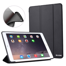 Case For iPad Mini 4 7.9'' Ultra Slim Leather Smart Soft TPU Back Cover For iPad mini4 A1538 A1550 Black Blue Coque Auto Sleep new coque for ipad mini 4 case smart flip stand a1538 a1550 shockproof protective 7 9 cover for ipad mini 4 smart cover