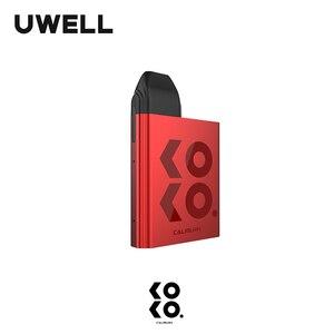 Image 3 - UWELL Caliburn KOKO Pod System 11W 520 mAh Battery 2 ML Refillable Cartridge Compact and Portable Vape Kit