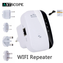 Antscope US/EU/UK/AU Беспроводной ретранслятор усилитель сигнала 300 Мбит/с точка доступа мост Wi-Fi диапазон маршрутизатор Roteador расширитель ретранслятор