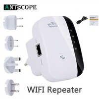 Antscope US/EU/UK/AU repeater bezprzewodowy wzmacniacz sygnału 300 mb/s punkt AP most WiFi Wi-Fi Router Roteador wzmacniacz i powielacz