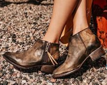 ankle boots for women pu leather vintage matin shoes woman ladies gladiator combat  winter shoe womens zapatos de mujer