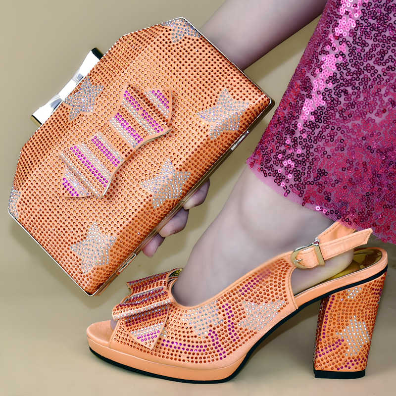 Latest Nigerian Women Wedding Shoes and