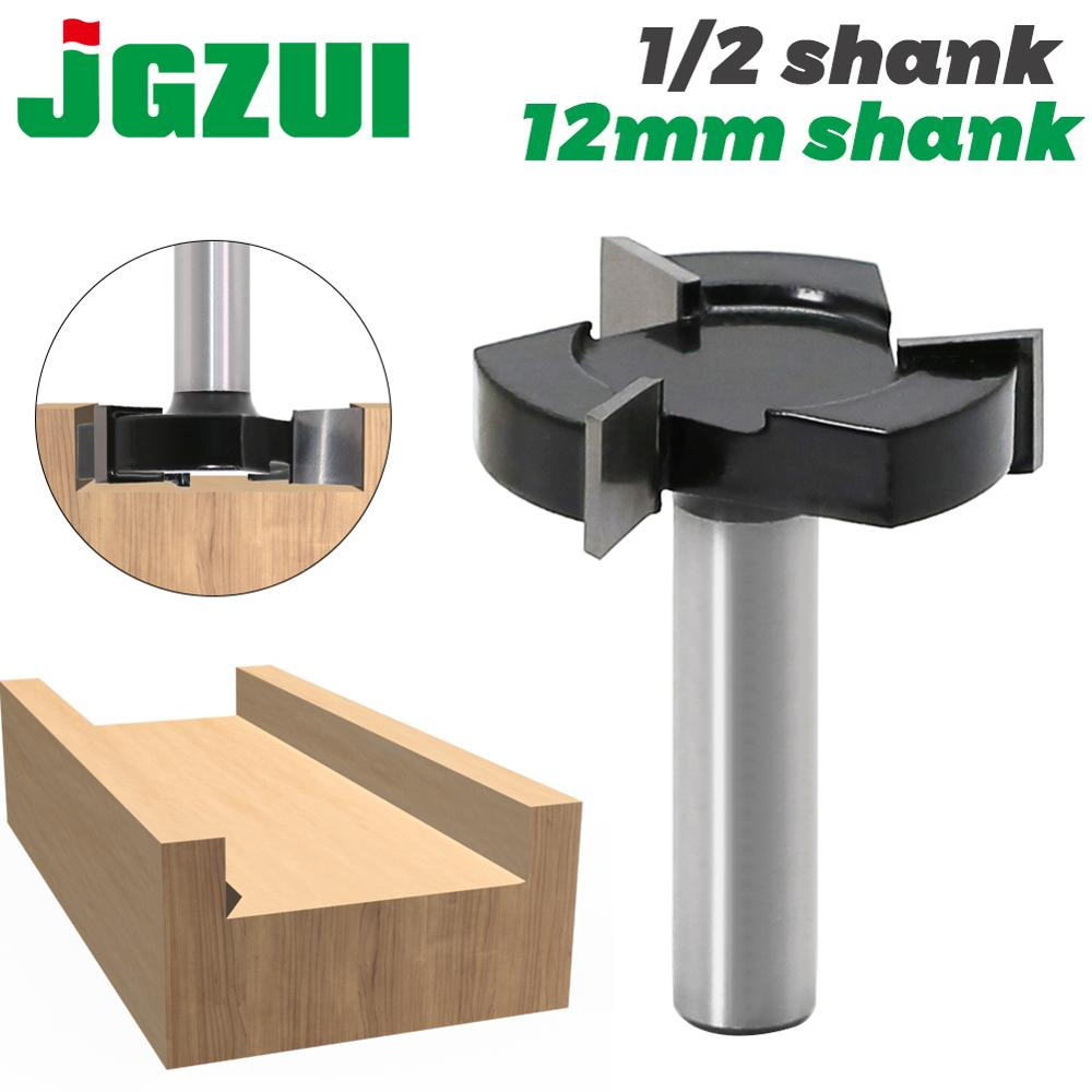 CNC Spoilboard Surfacing Router Bits, 1/2 Inch 12mm Shank 2 Inch Cutting Diameter, Slab Flattening Router Bit Planing Bit Wood