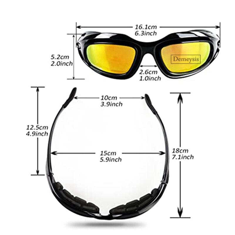 Esportes ao ar livre óculos polarizados tático