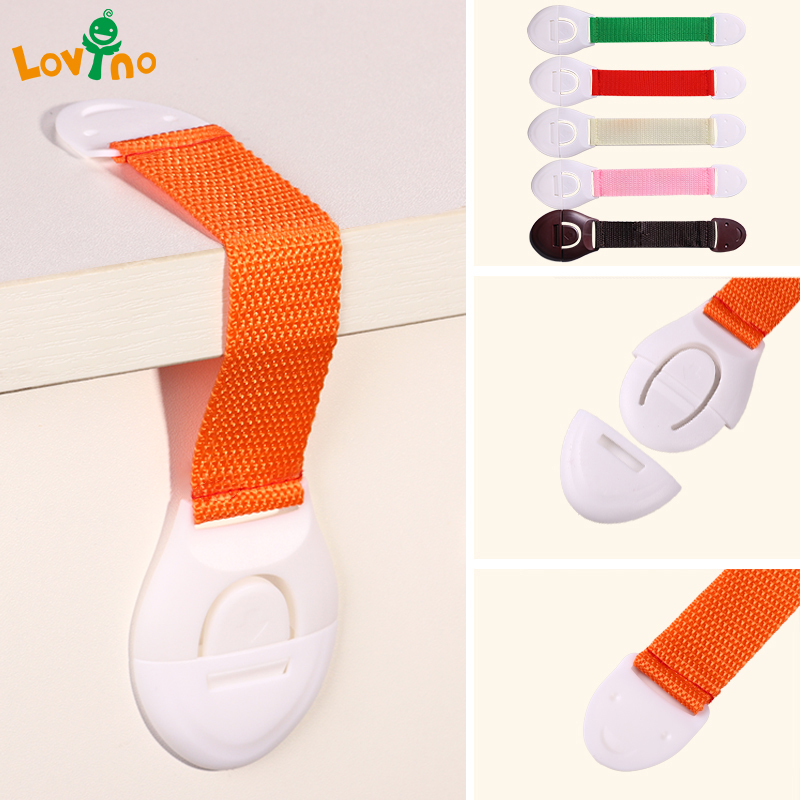 10 Pcs/Lot Plastic Child Lock Children Protection Baby Safety Infant Security Window Lock Door Interlocks Fridge Lock For Child