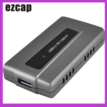 Ezcap287 USB 3.0 HD Game Capture Card Device Live Streaming Record EasyCap 1080p 60fps Plug and Play for XBOX One PS4 WII U