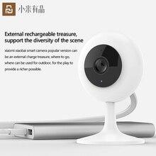 Originele Youpin Smart Webcam Populaire Versie 110 ° 1080P Hd Nachtzicht Draadloze Wifi Ip Webcam Thuis Cam Voor werkt Met Mijia Ap