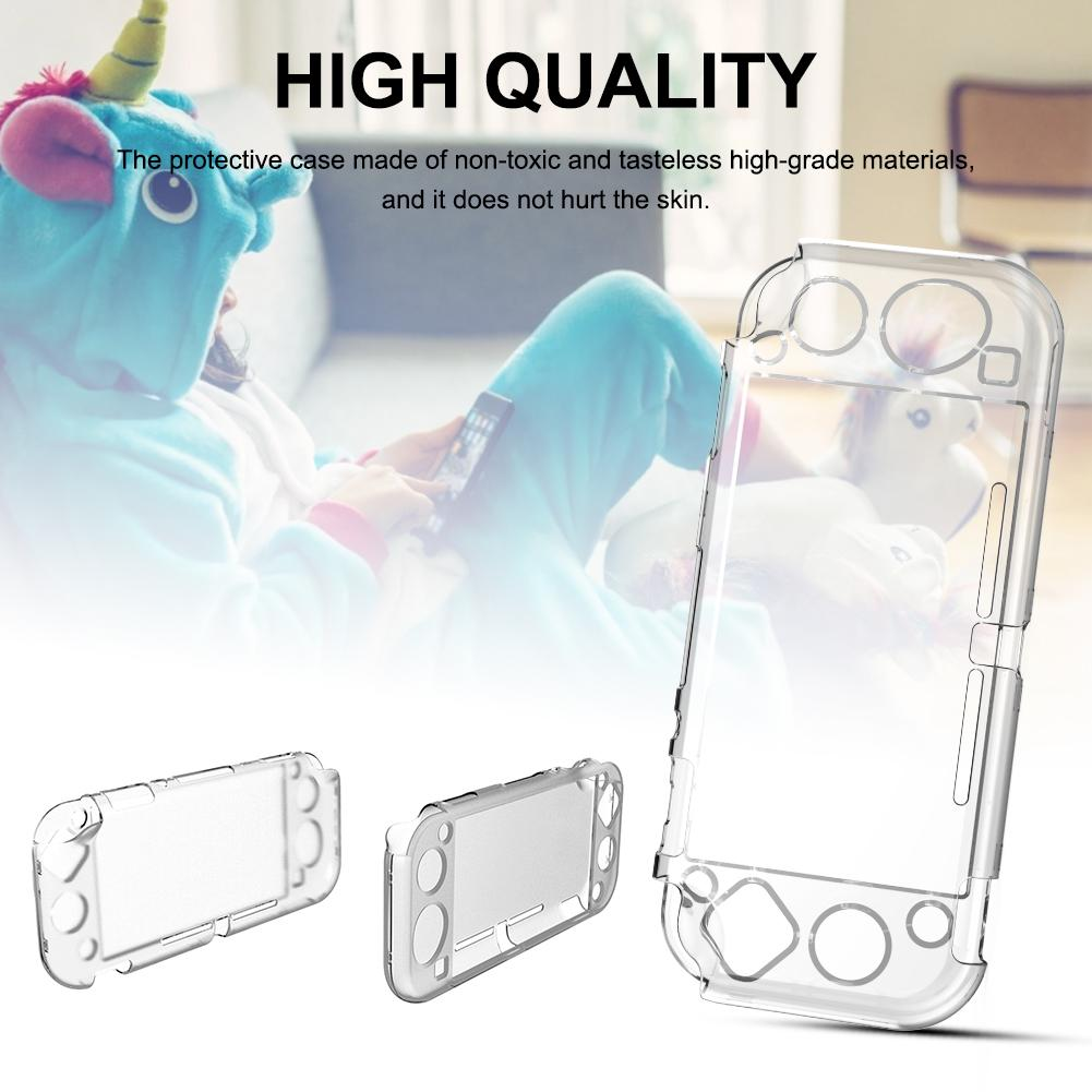 Protective Case for NS Handheld Game Console Mini Game Cover Crystal Cases for Switch Lite Protective Cover(China)