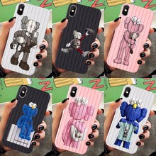 Soft Silicone Phone Case For IPhone 7 8 Plus X XS 6 6S Cute Cartoon Fun Animated Characters Cover