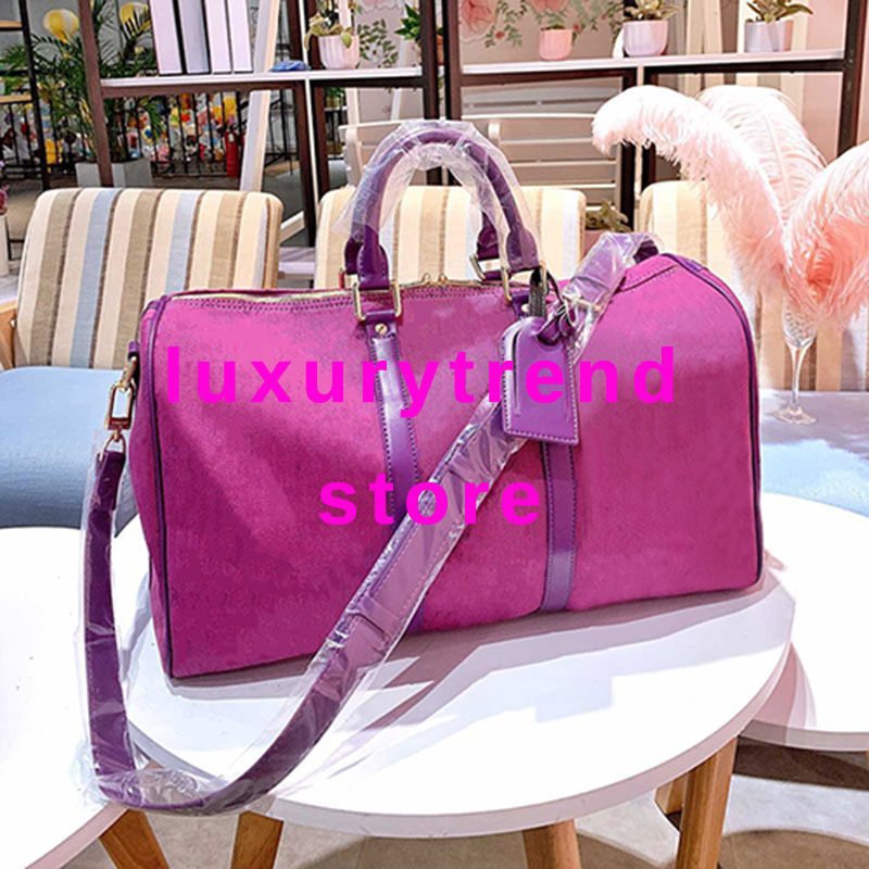 Duffle-Bag Travel-Luggage-Bag Keepall Designer Luxury Brand Tote Handbag Mens Denim Original