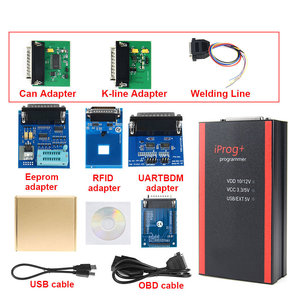 Image 4 - V85 Iprog+ Key Programmer Support IMMO + Mileage Correction + Airbag Reset Iprog Pro Till 2019 Replace Carprog with 7 adapter