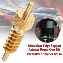 Actionneur de réparation de Support de cuisse de siège de voiture, équipement 52107068045 pour BMW série 5 7 X5 X6 E60 E61 F07 F10 E65 E70 E71, accessoires de voiture
