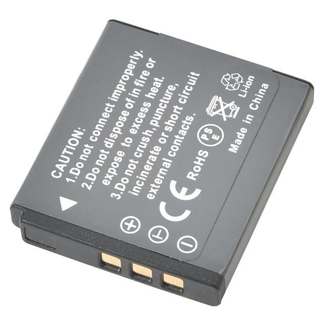 DSTE 2 pièces KLIC-7004 batterie de caméra avec chargeur USB pour KODAK Q10 M1033 V1073 V1253