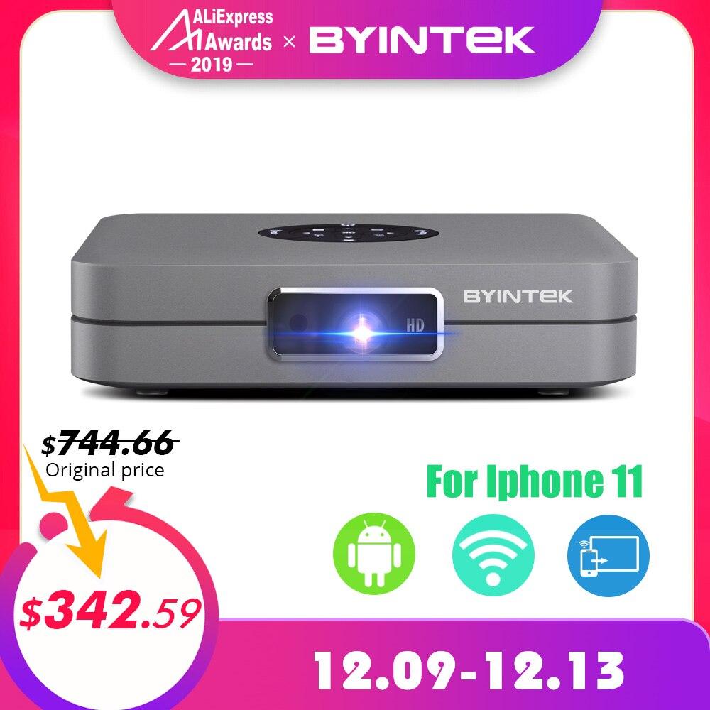 BYINTEK UFO U20 Pro Android intelligent Wifi Portable Mini LED DLP projecteur pour IPhone IPad Smartphone 300 pouces Home cinéma