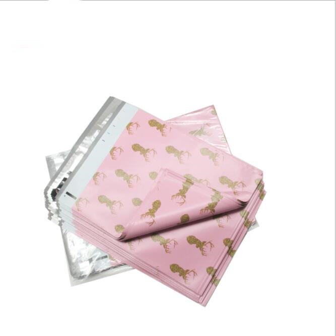 50pcs Large Poly Mailers Self Seal Plastic Envelope Bags Kawaii Waterproof Shipping Mailing Bags Poly Mailer Envelope 26x33cm