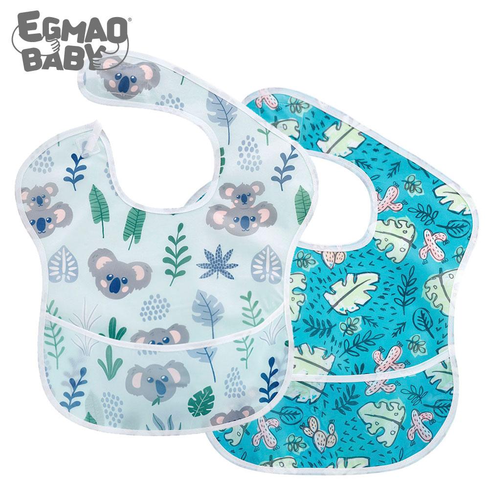 1Pcs Baby Bibs Waterproof Feeding Bibs Unisex Washable Fashion Bibs For Girls & Boys Stain and Odor Resistant Fashion Infant Bib