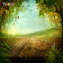 Yeele Photography Backdrops Grass Fairy Tale Sunshine Baby Poster Photo Background Photocall Backgrounds for Studio Props